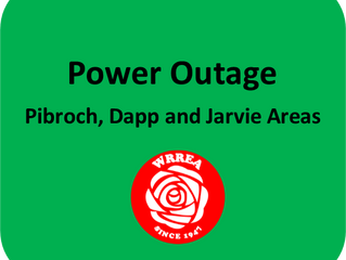 Power Outage- Pibroch, Dapp and Jarvie Areas