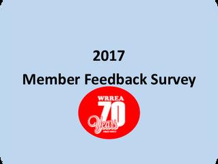 2017 Member Feedback Survey