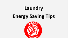 Laundry Energy Saving Tips