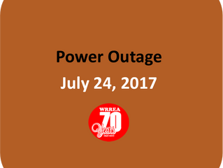 Power Outage July 24, 2017