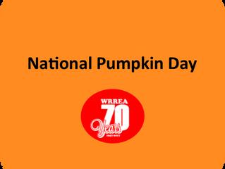 National Pumpkin Day!