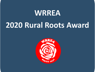 Rural Roots Award: Deadline to Apply-March 2, 2020.
