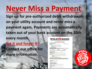 Never Miss a Payment Again
