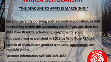 WRREA Scholarship: Apply Before March 2, 2021!