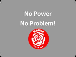 No Power? No Problem!