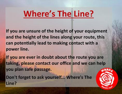 Where's The Line?