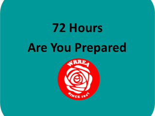 Are You Prepared for A Minimum of 72 Hours?