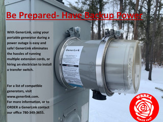 Be Prepared- Have Backup Power