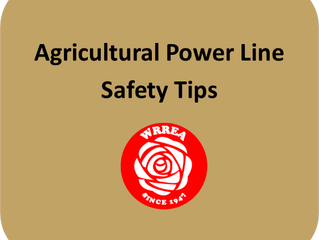 Agricultural Power Line Safety Tips