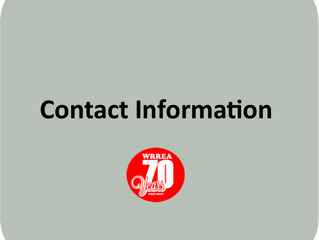 Updating Contact Information