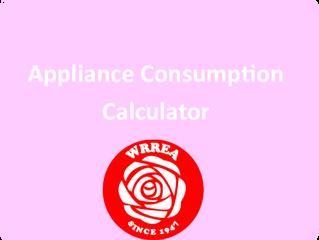 Appliance Consumption Calculator