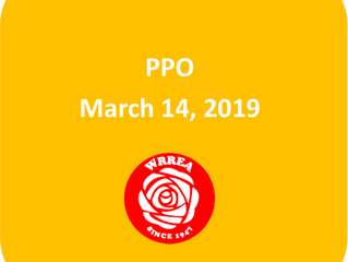 PPO March 14, 2019