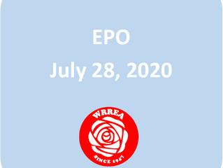 EPO Restored July 28, 2020