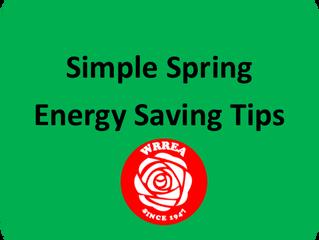Simple Spring Energy Saving Tips