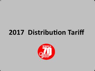 2017 WRREA Distribution Tariff