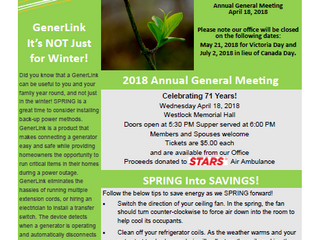 Have you read our Spring 2018 Newsletter Yet?