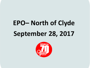 EPO- NE of Clyde September 28, 2017