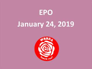 EPO: January 24, 2019