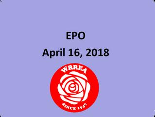 EPO- April 16, 2018