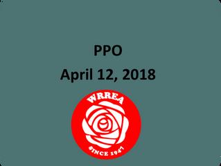 PPO April 12, 2018