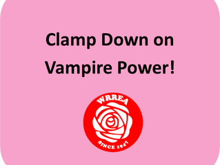 Clamp Down on VAMPIRE Power!