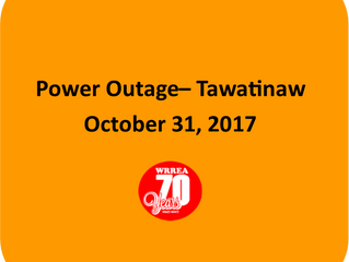Power Outage- Tawatinaw Area