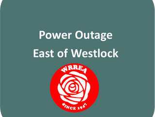 Power Outage- East of Westlock