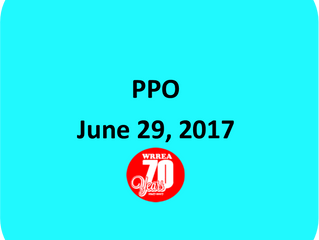 PPO June 29, 2017