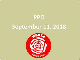 PPO September 11, 2018