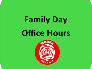 Family Day Office Hours