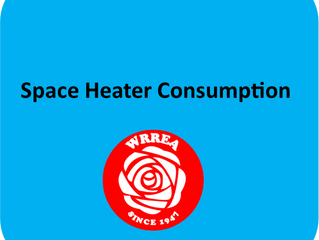 Space Heater Consumption