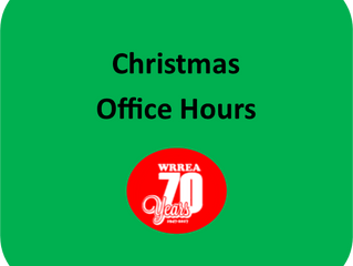 Christmas Office Hours