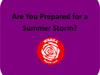 Are You Prepared for a Summer Storm?