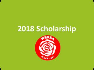 WRREA 2018 Scholarship