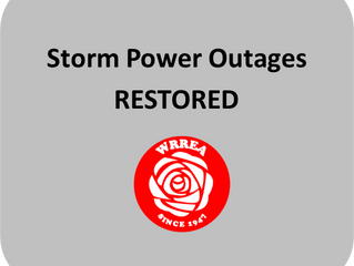 Storm Power Outages- RESTORED
