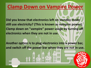 Clamp Down on Vampire Power