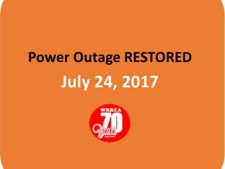 Power Outage RESTORED- Fawcett Area