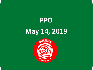 PPO May 14, 2019