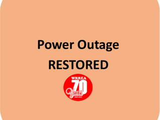 Power Outage RESTORED