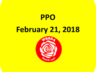 PPO February 21, 2018