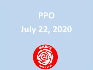 PPO July 22, 2020 Dapp Area