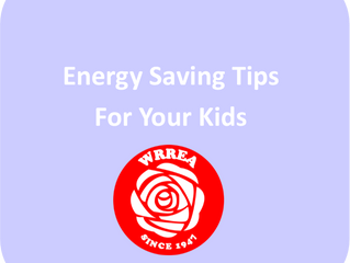 Energy Saving Tips For Your Kids