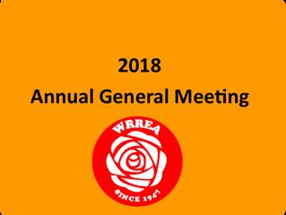 2018 Annual General Meeting- April 18, 2018