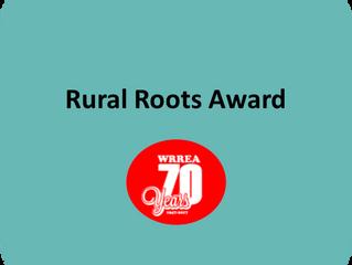 Wild Rose REA Rural Roots Award