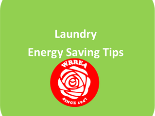 Laundry: Energy Saving Tips