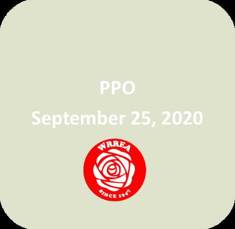 Transmission Line PPO September 25, 2020