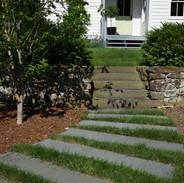 Stone Walkway to Stairs