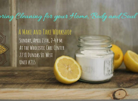 Spring Cleaning for Your Home, Body and Soul ♡