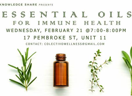 Immune Health & Essential Oils