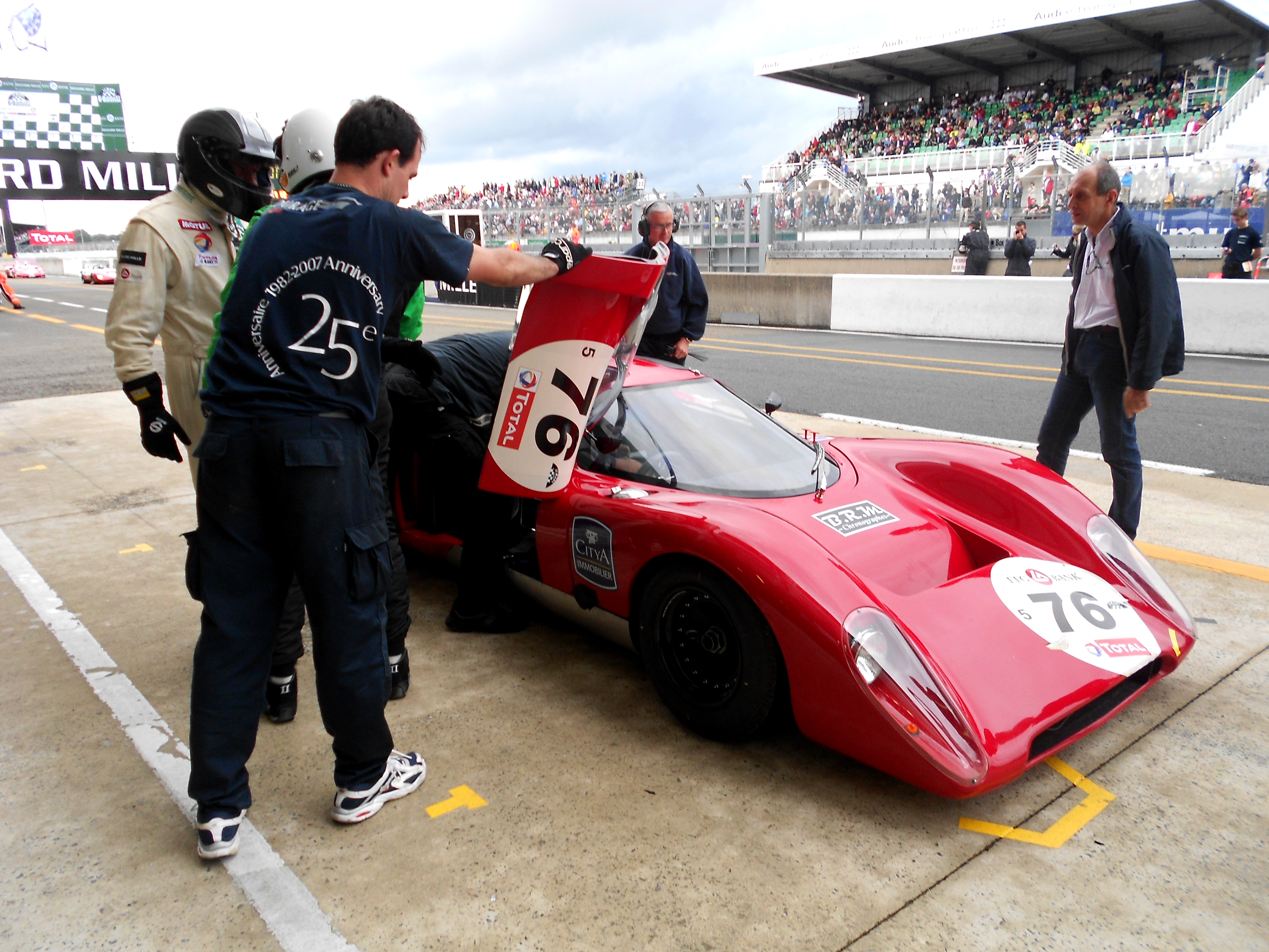Chevron B16 at Le Mans Classic 2012